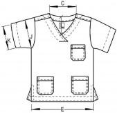 V Σταυρωτό χωρίς Οριζόντια Ραφή (Τεχνικό Σκίτσο)